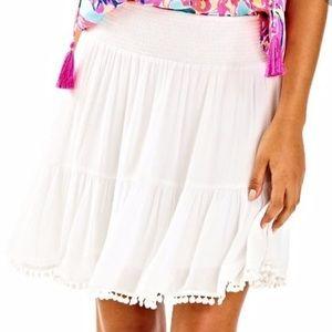 Lilly Pulitzer Evelyn White Skirt